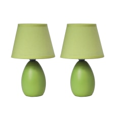 Simple Designs Mini Egg Table Lamps