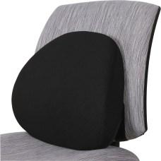 Lorell Ergo Fabric Lumbar Back Support