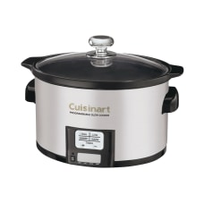 Cuisinart 35 Quart Programmable Slow Cooker