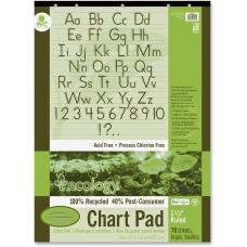 Ecology Chart Pad 1 12 Ruled