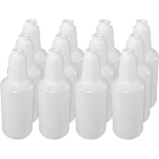 Genuine Joe Plastic Bottle With Graduations