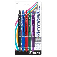 Pilot Acroball Retractable Hybrid Gel Pens