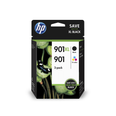 HP 901XL901 BlackTricolor Original Ink Cartridges