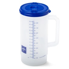 Medline Insulated Carafes Graduated 32 Oz