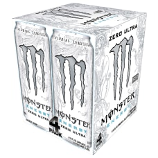 Monster Energy Drinks Ultra Zero 16