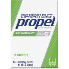 Propel Water Beverage Mix Packets with