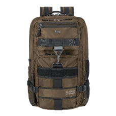 Solo Altitude Laptop Backpack Khaki