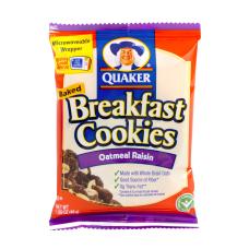Quaker Breakfast Cookies Oatmeal Raisin Box