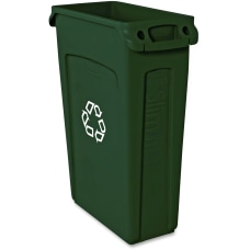 Rubbermaid Commercial Slim Jim Waste Receptacle