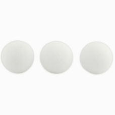 Hygloss Styrofoam Balls 3 White Pack