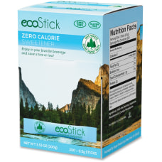 ecoStick Aspartame Sweetener Packets Packet Artificial