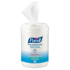 PURELL Alcohol Hand Sanitizing Wipes 6