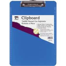 CLI Rubber Grip Plastic Clipboards 8