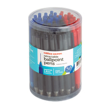 Office Depot Retractable Ballpoint Pens With