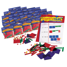 Learning Resources Algebra Tiles Classroom Sets