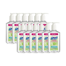 Purell Gel Instant Hand Sanitizer 12