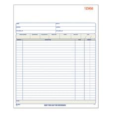 Adams Carbonless Sales Order Book 8