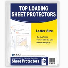 C Line Sheet Protectors 8 12