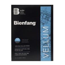 Bienfang Vellum Drafting Pad 9 x