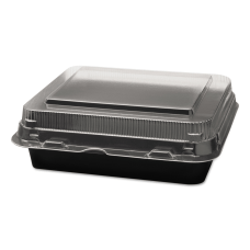 Dart Creative Carryouts Boxline Hinged Plastic