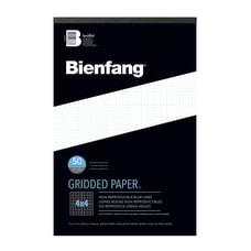 Bienfang Gridded Paper Pad 11 x