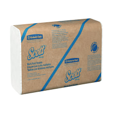 Scott Multi Fold 1 Ply Paper