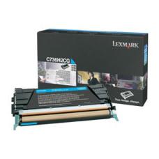 Lexmark Cyan High Yield Toner Cartridge