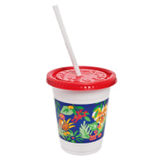 Solo Plastic Kids Cups with LidsStraws