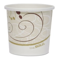 Dart Double Poly Paper Containers 12