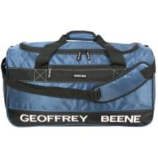 Overland Geoffrey Beene Embroidered Duffel Bag
