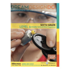 Makerspace 3 D Learning Curriculum Grade