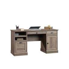 Sauder Barrister Lane Executive Desk Salt