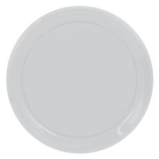 Amscan Round Plastic Platters 16 Silver