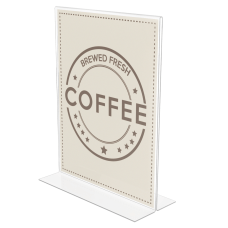 Deflecto Anti Glare Double Sided Sign
