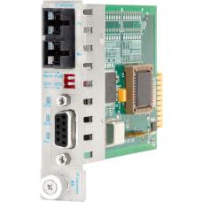 iConverter RS 422485 Serial to Fiber
