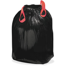 Webster Drawstring 12 mil Trash Can