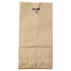 General Supply Natural Paper Grocery Bags