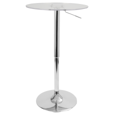 Lumisource Adjustable Table ClearChrome