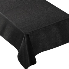 Amscan Metallic Fabric Table Cover 60