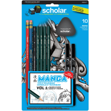 Prismacolor Scholar Manga Drawing Set 10