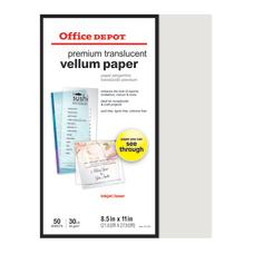 Office Depot Brand Premium Translucent Vellum