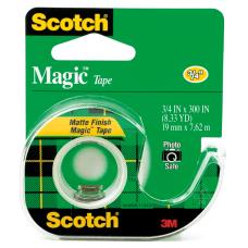 Scotch Magic Tape In Dispenser 34