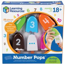 Smart Snacks Number Pops Set ThemeSubject