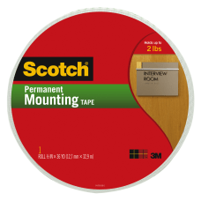 Scotch Permanent Mounting Tape 34 x