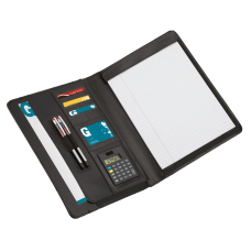 Office Depot Brand Leather Padfolio No