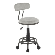 LumiSource Swift Task Chair Grey