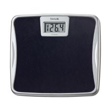 Taylor Digital Bathroom Scale Black