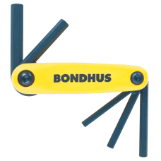 Bondhus GorillaGrip 5 Piece Fold Up