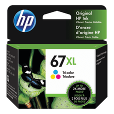 HP 67XL High Yield Tri Color