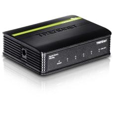 TRENDnet 5 Port Gigabit GREENnet Switch